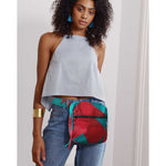 Fanny pack | Red Waves - Papita.nl