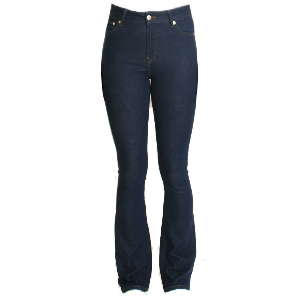 Flared Jeans | Dark Blue - Papita.nl