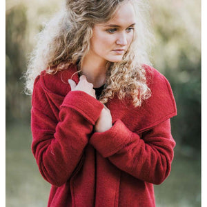 Jas | Woolly Red - Papita.nl