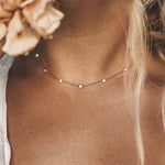 Ketting | Fancy Beads Goud - Papita.nl