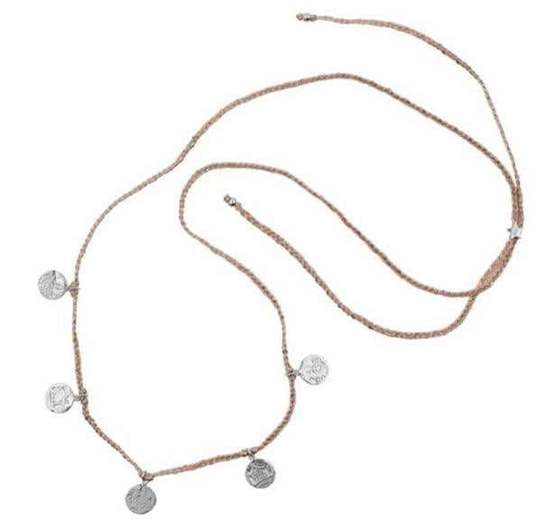 ketting fair trade Betty Bogaers - Ketting | Old Coins zilver - Papita.nl