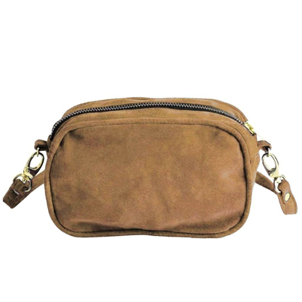 Mini camera bag - Bruin - Papita.nl