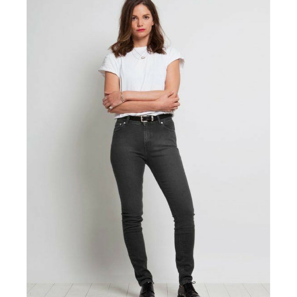 Skinny Jeans | High Waist Dip Dry washed - Papita.nl