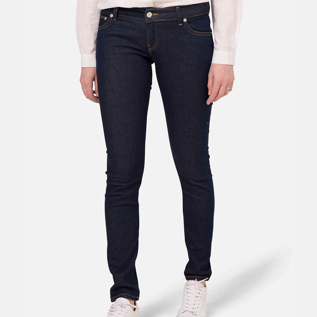 Jeans | Skinny Mid Waist Strong Blue - Papita.nl