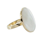 Ring | Parel Shell Goud - Papita.nl