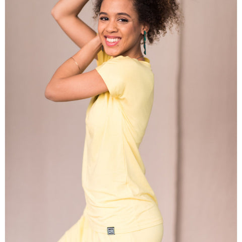 Shirt | Fine Yellow - Papita.nl