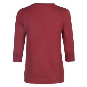 Top | Red Knit - Papita.nl