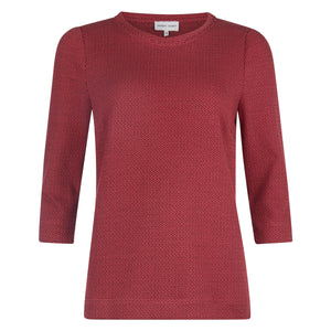 Top | Red Knit