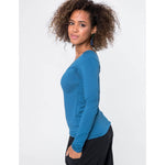 Top | V Shaped blauw - Papita.nl
