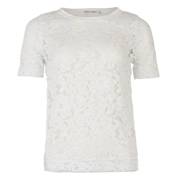 Top | White Lace