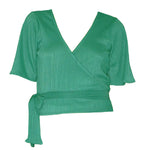 Top | Wrap Green - Papita.nl