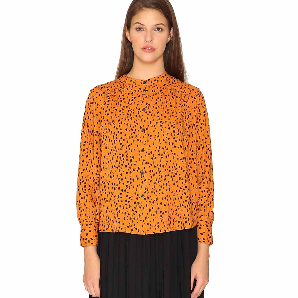 Blouse | Orange Spice - Papita.nl