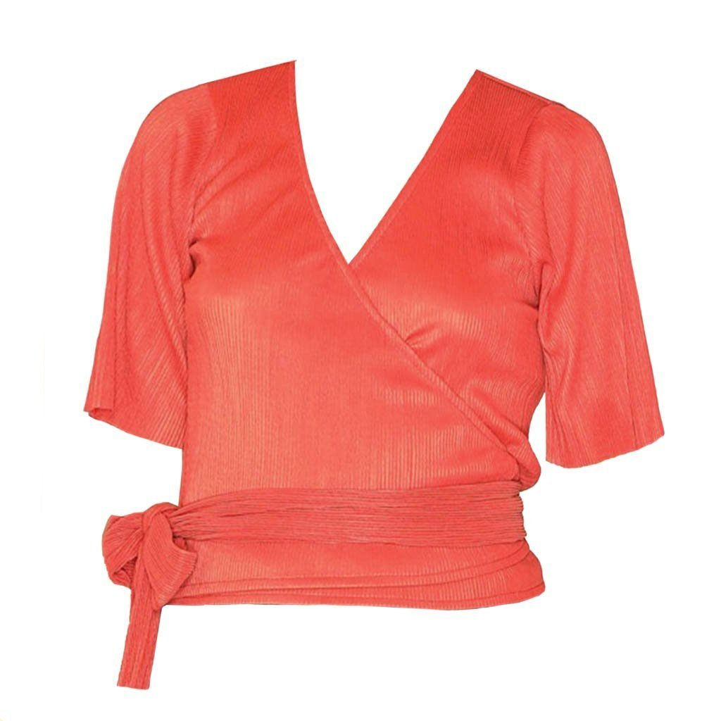 Top | Wrap Rusty Red - Papita.nl