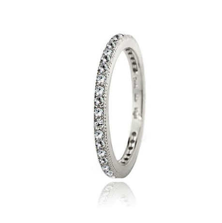 Sterling Silver Eternity Band Ring