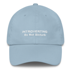 Introverting - Do Not Disturb Cap