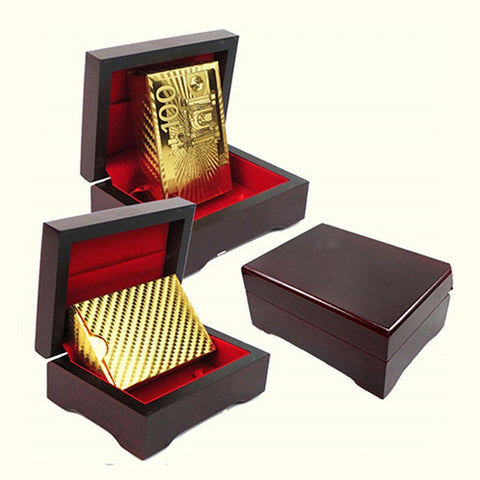 Luxury Gold Foil Poker Playing Cards