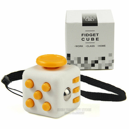 Mini Version Stress Cubes (2.2x2.2x2.2cm) Comes with a String