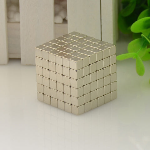 Magnetic Cube Building Blocks
