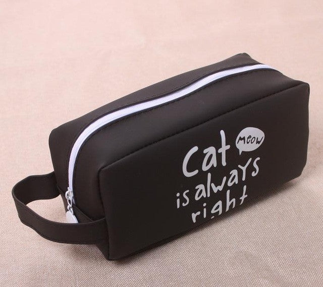 Super Big Cute Cat Pencil Case