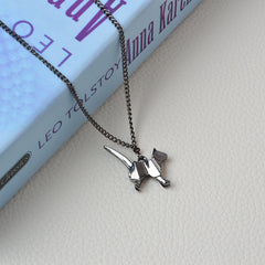 Simply Fashion - Origami Kitten Necklace