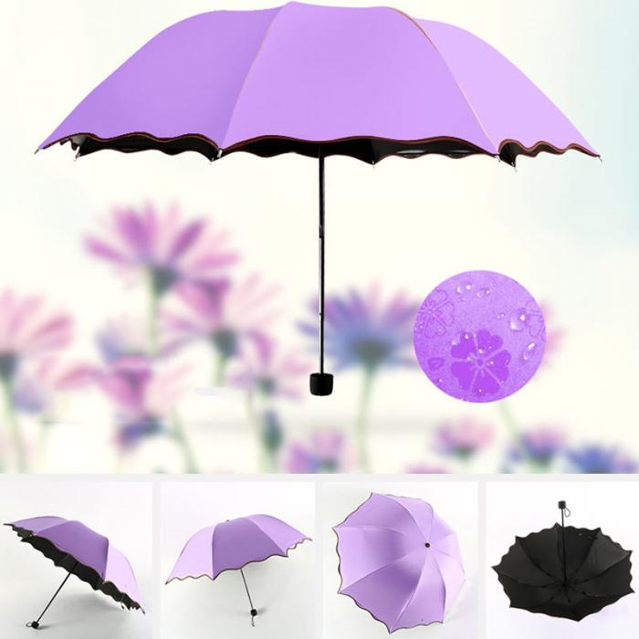 Hidden Flowers - Folding Umbrellas