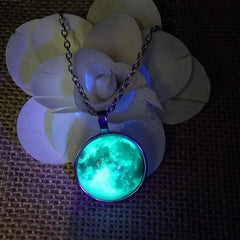 Luminous Glowing Moon Necklace