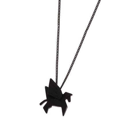 Simply Fashion - Origami Pegasus Necklace