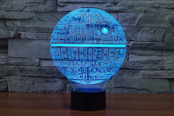 Star Wars Death Star Led Lamp Introvert Palace