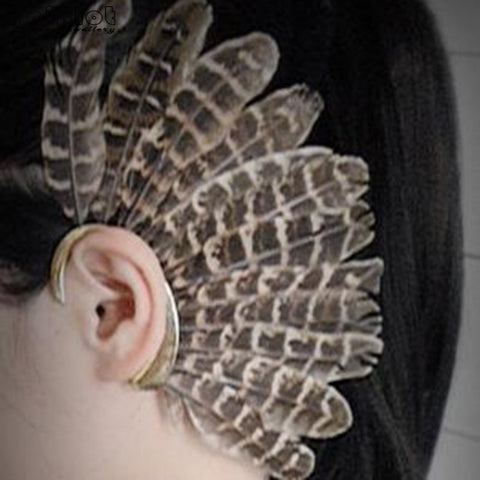 Be BOLD - Unisex Feather Ear Cuff
