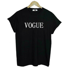 VOGUE Tshirt Cotton