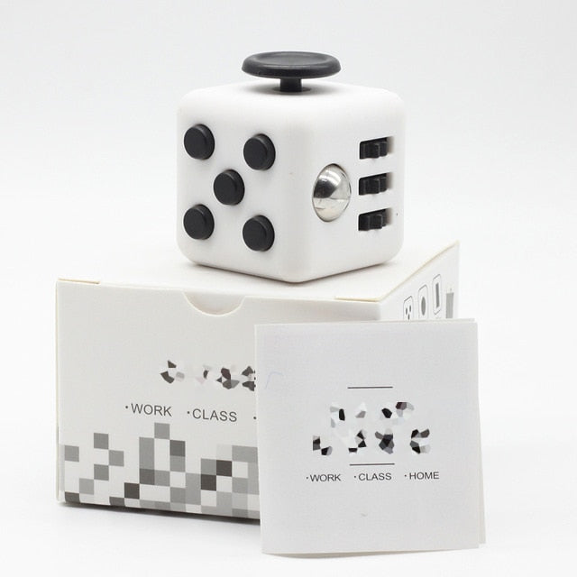 11 Patterns Anti Stress Cube
