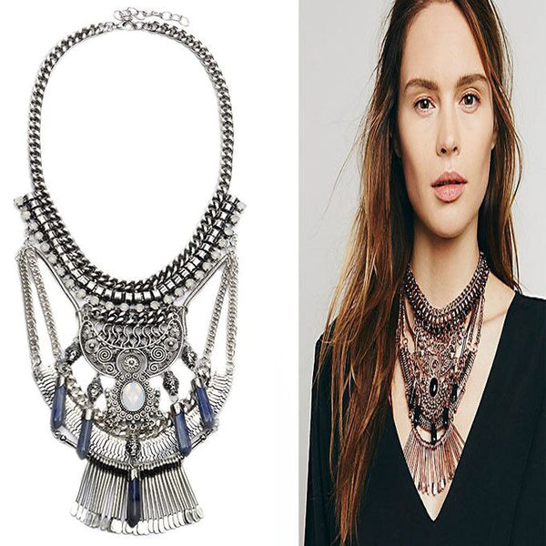 Large Vintage Collar Necklaces