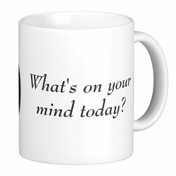 Sigmund Freud: What's on your mind today? Coffee Mug