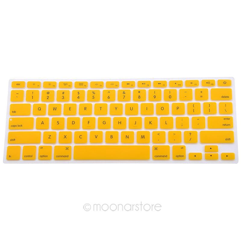 Silicone Keyboard Cover For Apple Macbook Pro MAC 13 15 17 Air 13