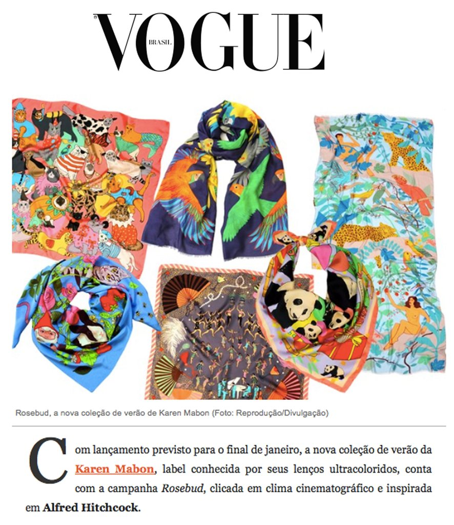VOGUE BRASIL: Rosebud Collection