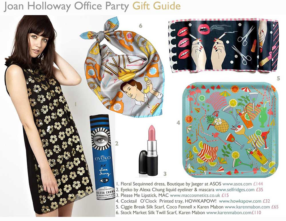 Gift Guide #1 – 60s Office Party
