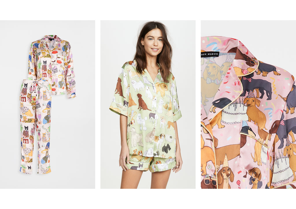 Karen Mabon Sleepwear now available at Shopbop