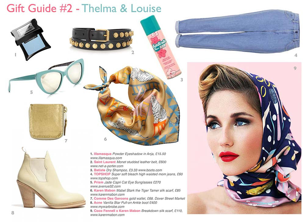 Thelma & Louise Gift Guide