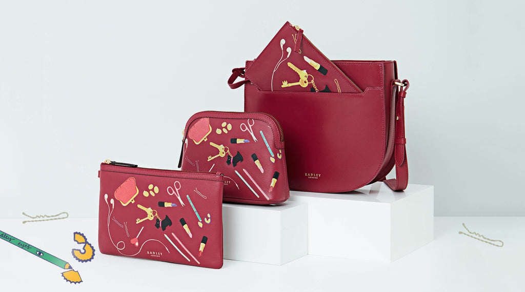 Radley In The Bag collaboration with Karen Mabon