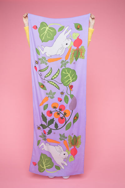 Vegetable Plot Cashmere Scarf