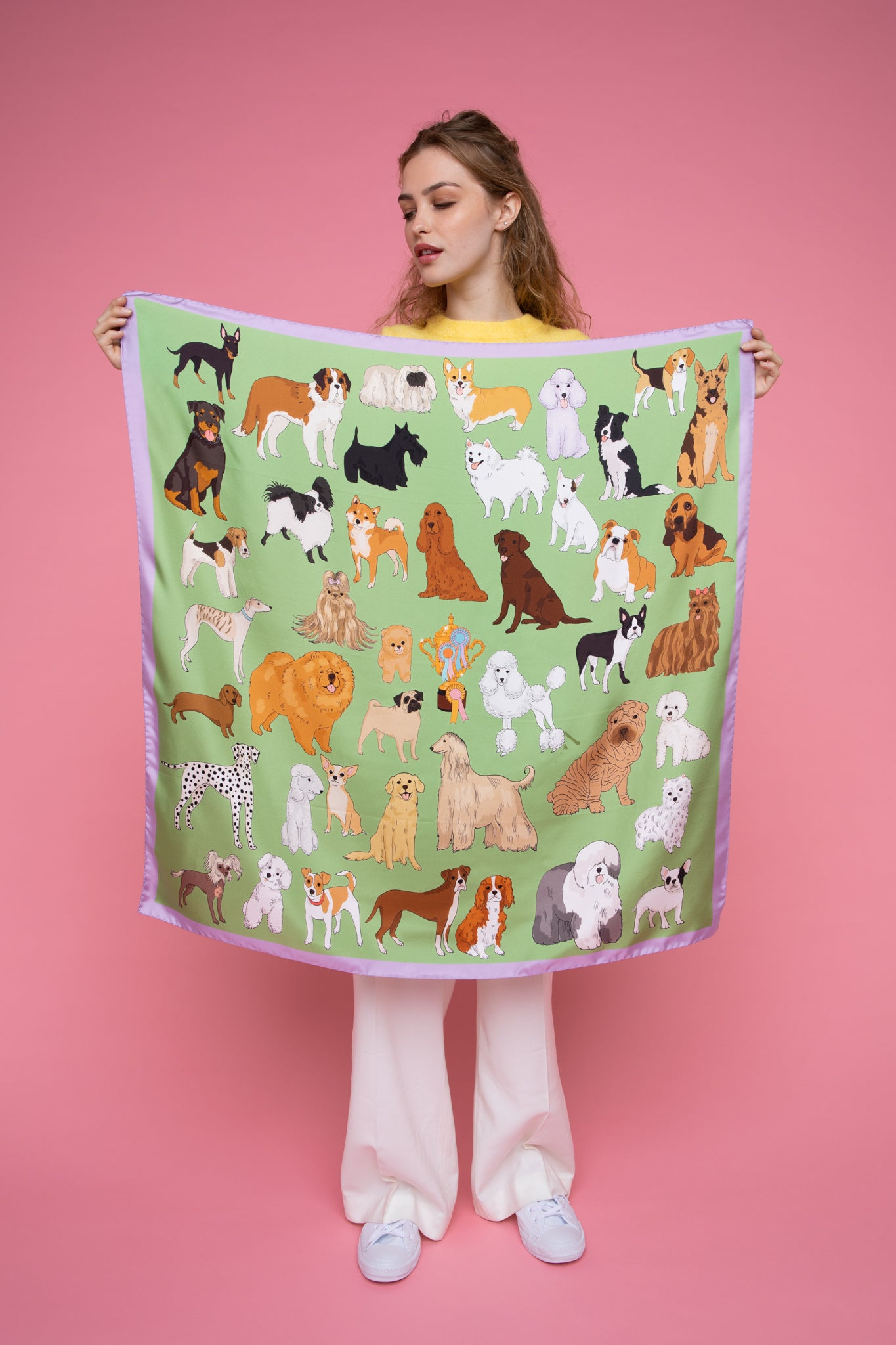 Crufts Silk Scarf
