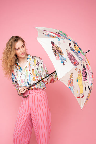Fashion Umbrella | Cream