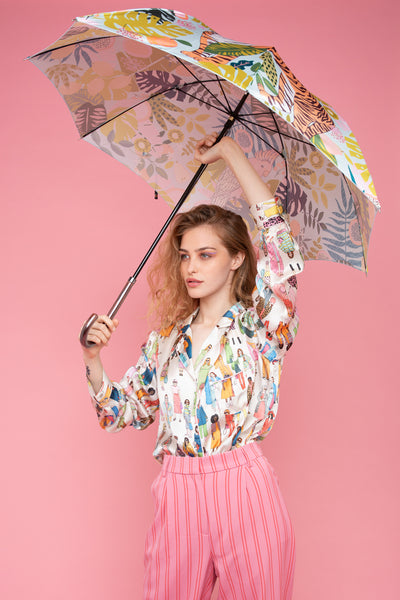 Tutti Frutti Umbrella | Peppermint