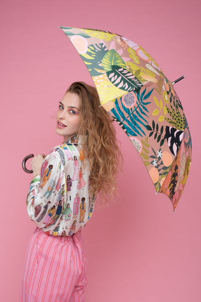 Tutti Frutti Umbrella | Butterscotch