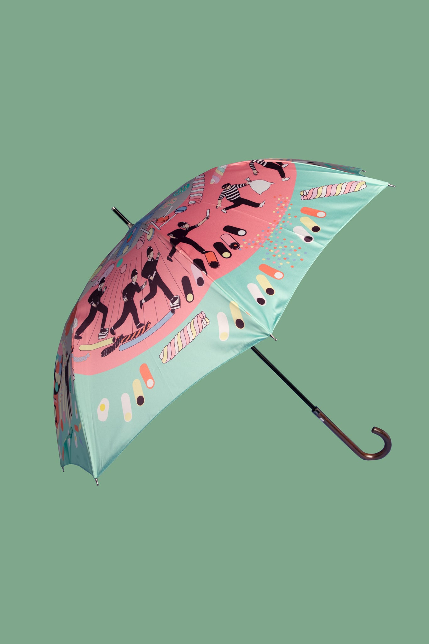 Robbery in a Sweet Shop Umbrella | Mint