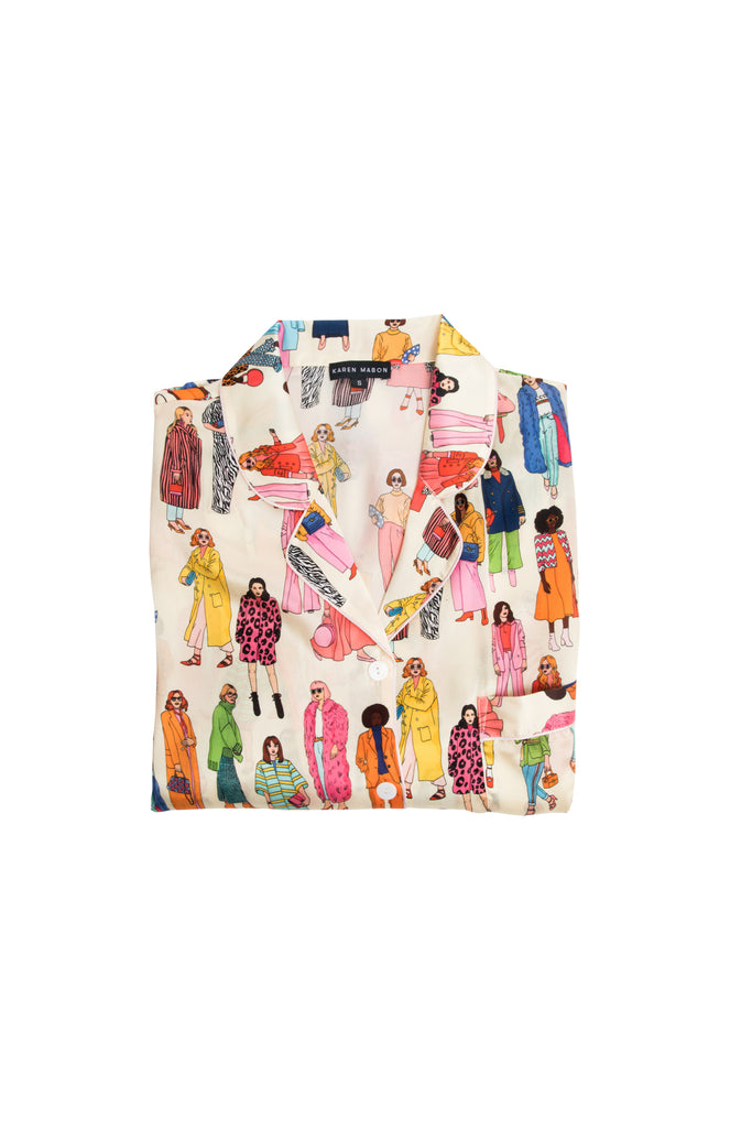 *Pre - Order* Fashion Silk Shirt