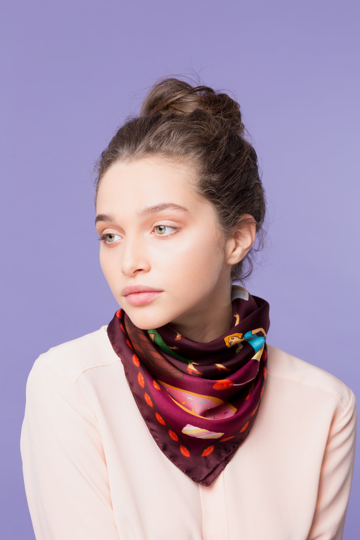 Unhealthy Silk Scarf