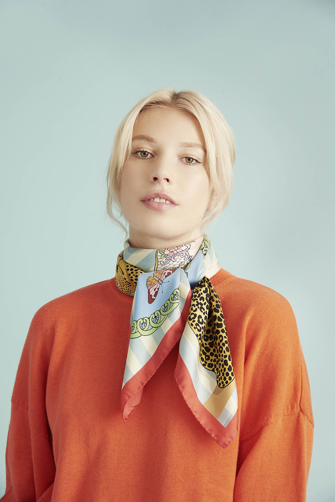 Shelf Life Silk Scarf
