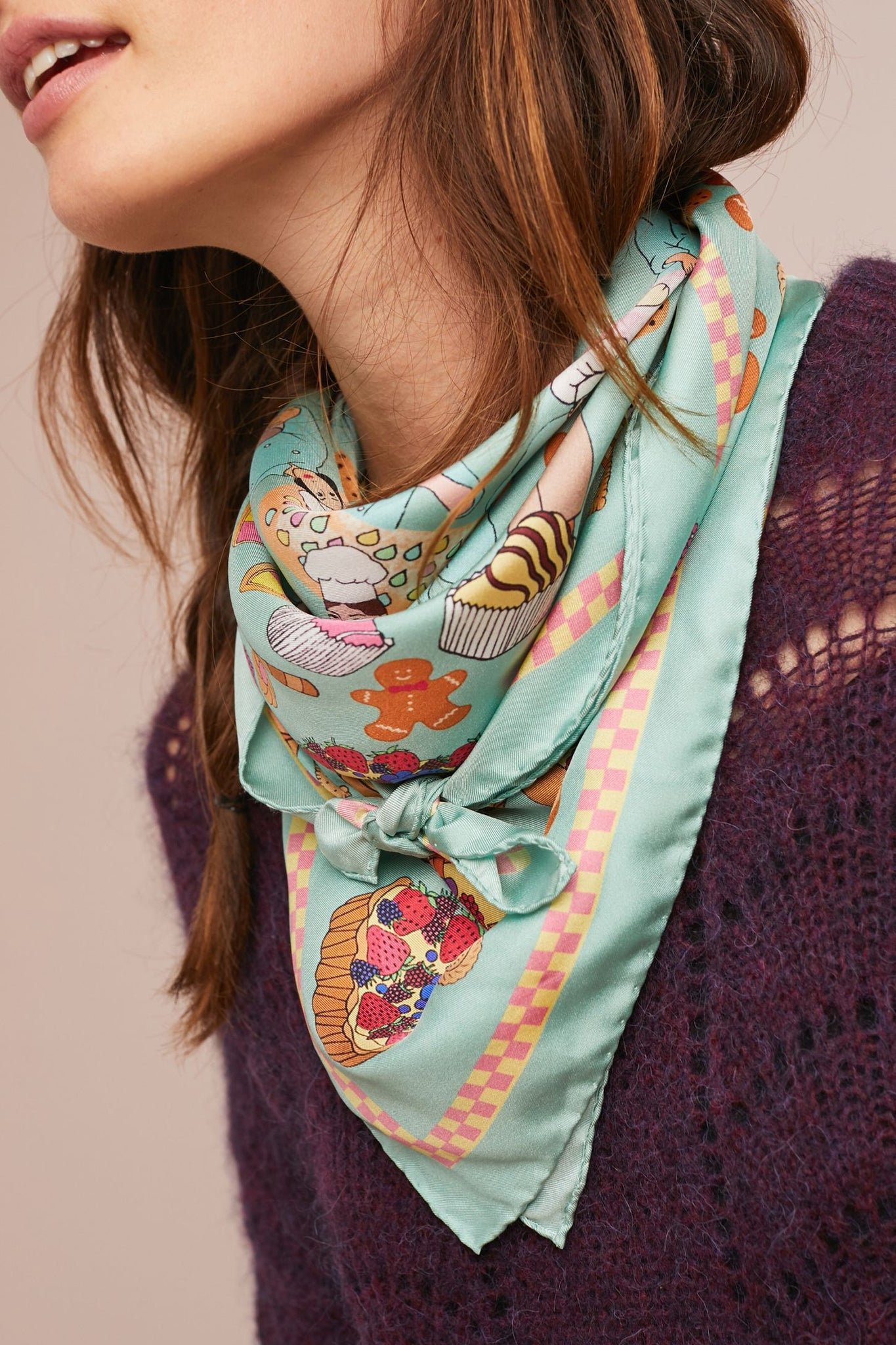 Bake-Off Silk Scarf