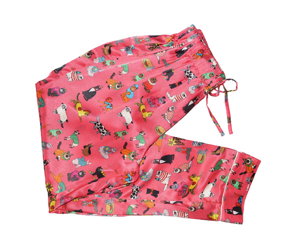 The Cats Pyjamas Silk Sleep Trouser